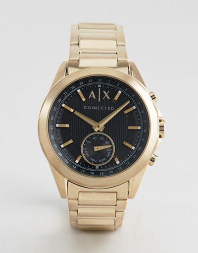 1116772cb47 Qoo10 - Armani Exchange Connected AXT 1008 Bracelet Hybrid Smart Watch In  Gold   Watch   Jewelry