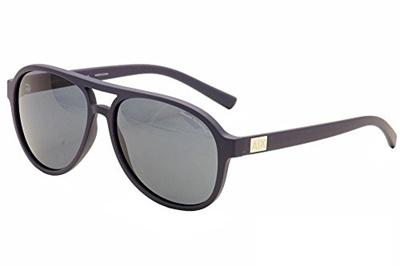 4b314b1d6ae1 Armani Exchange Mens Sunglasses (AX4055) Blue/Grey Plastic - Non-Polarized -