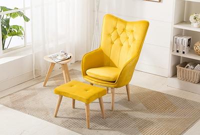 Qoo10 Armchair Ottoman Furniture Deco