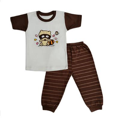 Qoo10 - Arrow Apple Kids - Kids Pajamas - Racoon (2Y-5Y) - Brown ... a9deee6bed