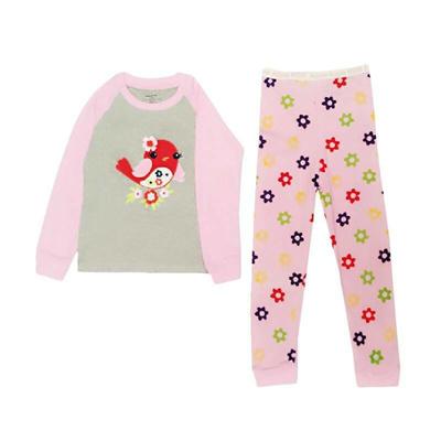 Qoo10 - Arrow Apple Kids Pajamas Piyama Anak - Red Bird   Pakaian Anak 5c0758846d
