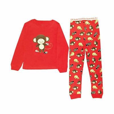 Qoo10 - Arrow Apple Kids Pajamas Piyama Anak - Red Monkey   Pakaian Anak bf5fa43aaf