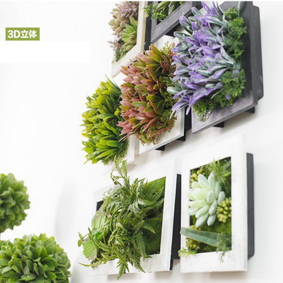 Perfect Artificial Plants Flowers Wall Home Decoration Home Ware Frame Furnishings