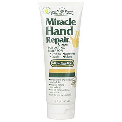 as seen on TVAs Seen On TV Miracle of Aloe, Miracle Hand Repair Cream with  60% UltraAloe 8 ounce tube