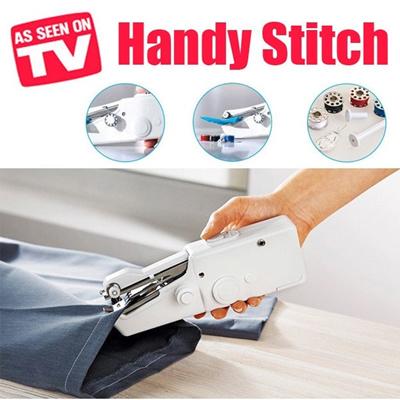 Qoo40 As Seen On TV Handy Stitch Handheld Sewing Machine Mini Interesting Handy Stitch Hand Sewing Machine