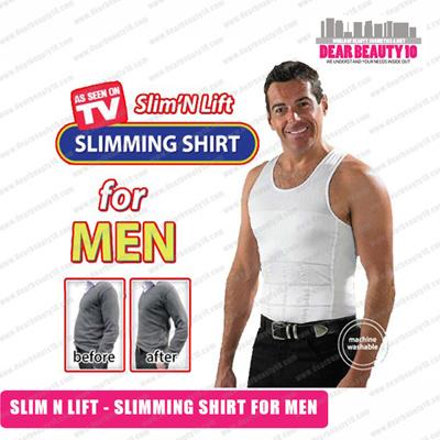 Qoo10 - [ AS SEEN ON TV ] MEN VEST - SLIMMING VEST FOR MEN ...