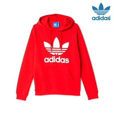 Qoo10 Adidas Trefoil Hooded T Shirt Ay6473 S Couple