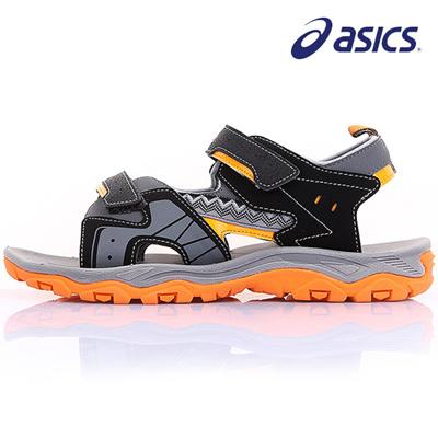 amazing selection best deals on pretty cool Qoo10 - Asics KD602 111618701-9009 Kids Sandals Children s ...