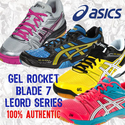 ~SF SPORTS~ASICS GEL ROCKET 7/ LEORD SERIES 100% AUTHENTIC