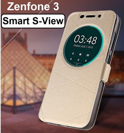 quality design e3c99 2de99 ASUS★[Asus Zenfone 3 ZE552KL Smart S-View Leather Flip Case Asus Zenfone 2  ZE550ML / ZE500CL/ ZE551ML / ZE552KL / ZE520KL / Zenfone 5 / Zenfone 6 ...