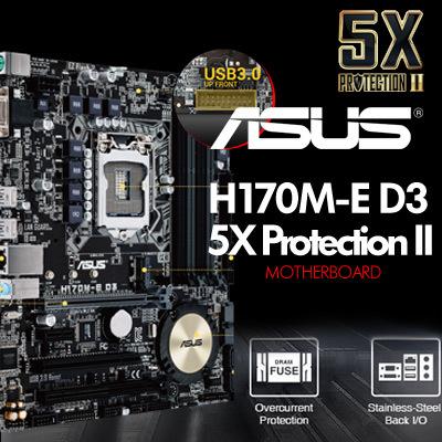 Qoo10 - H170M-E D3 Intel® for 6th Generation Core™ i7/Core ...