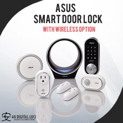 Qoo10 Asus Smart Door Lock Smarthome Gateway Options