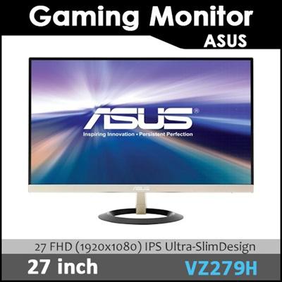 ASUS VZ279H Ultra-low Blue Light Monitor - 27 FHD (1920x1080) IPS  Ultra-SlimDesign