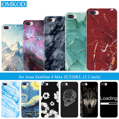 promo code 9e584 df84d asus zenfone 4 max zc520kl soft tpu marble back cover transparent silicone  phone cases asus zenfone