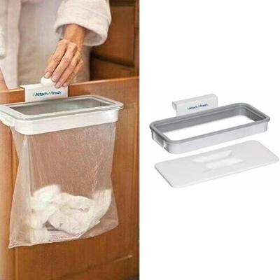 qoo10 attach a trash kitchen hangin trash bin cabinet door basket rh qoo10 sg