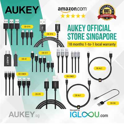 Qoo10 Aukey Microusb 3pack Mobile Devices