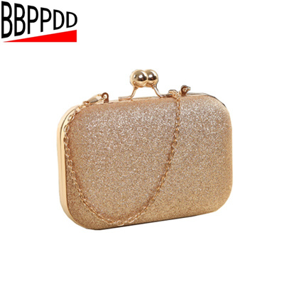 266b736a3eb8 authentic BBPPDD Woman Evening bag Small Mini Bag Women Shoulder Bags  Crossbody Women Gold Clutch B
