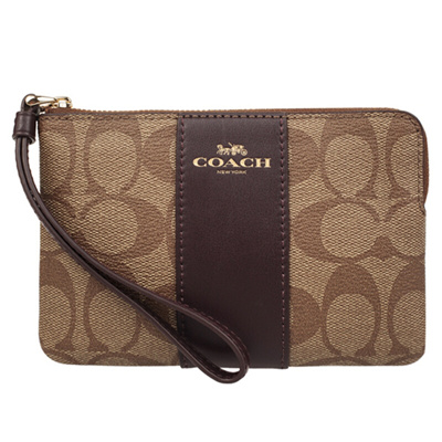 1c0faf103 Authentic COACH Wristlet F58035 with Box - Ship from SG - Great Gift for  the Modern