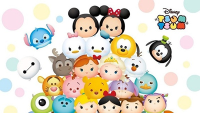 Qoo10 Authentic Tsum Tsum Toys