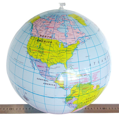 Authentic World Map.Qoo10 Authentic Educational Toys For Children 1 Pc 40cm Inflatable