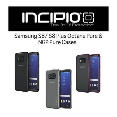 separation shoes a6028 e2380 Authentic Incipio Samsung S8 / S8 Plus Cases - Octane Pure / NGP Pure