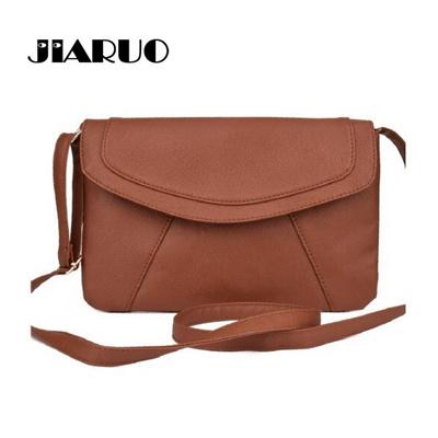 0ed750f914 authentic JIARUO PU leather Women Envelope Messenger bags Slim Crossbody Shoulder  bags Handbag Small