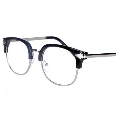 Qoo10 - Authentic Korean eyeglass frame ladies retro black box ...