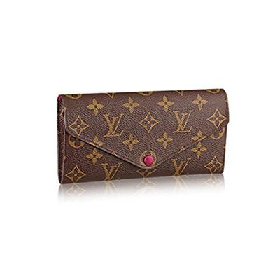 0cac45232d Qoo10 - Authentic Louis Vuitton Monogram Canvas Fuchsia Josephine Wallet  Artic...   Bag   Wallet