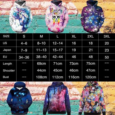 6b37aa28 authentic NADANBAO Brand Unicorn Autumn Women Sweatshirts 3D Print Graffiti  Hiphop Unicornio Hoodies