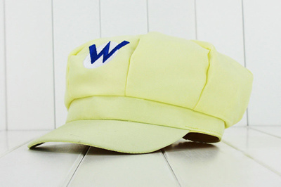 a27714479f2 authentic NEW Super Mario bros. Mary Octagonal Cap amp Sunbonnet Adult Hat  Cosplay Wholesale Price