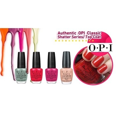 Qoo10 Authentic Opi Nail Polish Designer Series Shatter Nail