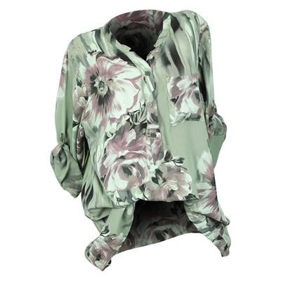 886d0d65763 Qoo10 - authentic Plus Size 5XL Womens Tops and Blouses Feminine Autumn 2018  V...   Women s Clothing