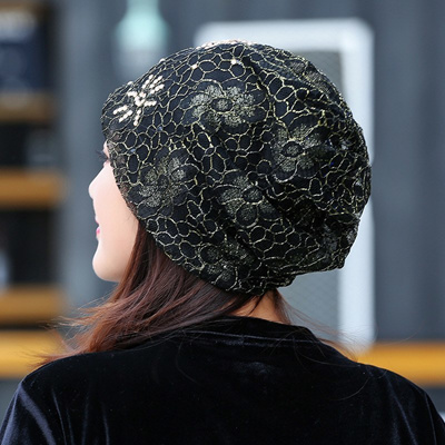 Qoo10 - authentic Women Turban Hat Ladies Summer Slouchy Beanie Rhinestone  Hat...   Fashion Accessor. 4614139f7