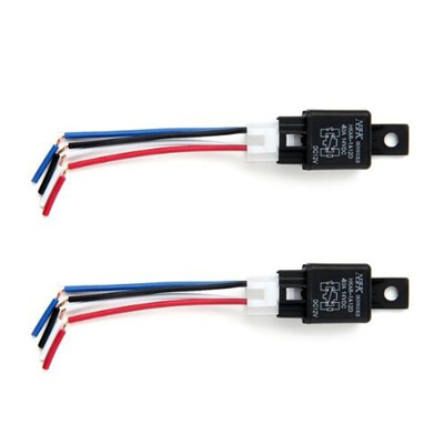 Automotive Relays Normally Open Relay Switch Changeover Relay 30A 12V 360W  (Color: Multicolor)