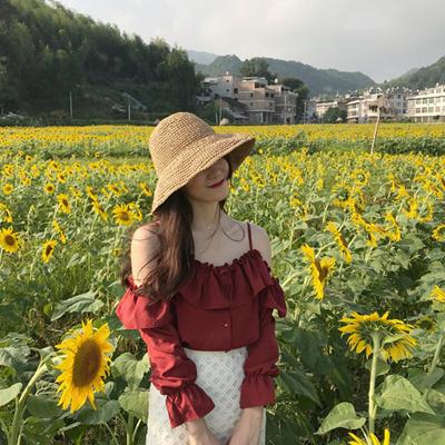 Qoo10 Autumn Korean Style Retro Temperament Lotus Leaf Edge One
