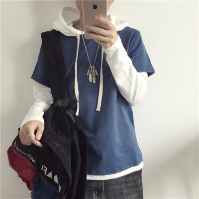 65066aeaf995 Qoo10 - Autumn Section Men s hooded jacket head coat male Ulzzang Long  sleeve ...   Men s Apparel