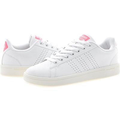 qoo10 [aw3974] adidas cloudfoam vantaggio pulito w: uomini sacchi & scarpe
