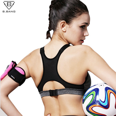 16f9e9dcf1 B.BANG Women Yoga Bra Sports Bra for Running Gym Fitness Athletic Bras  Padded Push