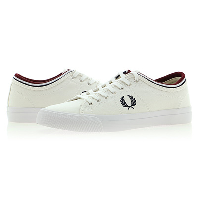 Qoo10 -  B4208 183  FRED PERRY KENDRICK TIPPED CUFF CANVAS   Shoes 03df11958b
