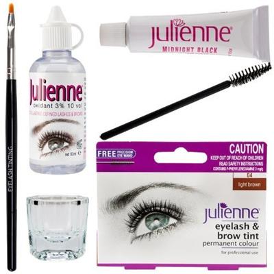 Qoo10 - Baby Bath New Julienne Eyelash Eyebrow Tinting Kit Dye Light ...