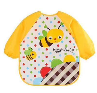 Qoo10 - Baby Bibs Infant Cartoon Printed Waterproof Coverall Baby Toddler  Scar...   Women s Clothing 82b5092c12