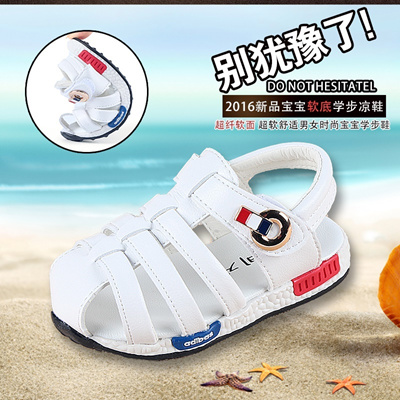 Baby boys toddler baby shoes non-slip soft late summer women sandal baby shoes  shoes 782ce3d176
