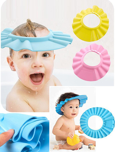 2c7a50b9bb6 Qoo10 - SHOWER CAP   Baby   Maternity