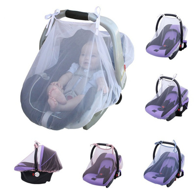Baby Crib Seat Mosquito Net Newborn Curtain Car Insect Netting Canopy Cover