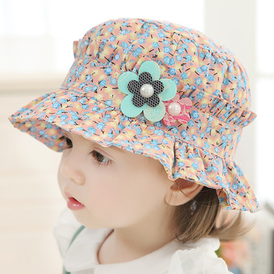 Qoo10 - Baby girl fisherman Hat summer Hat Cap visor 1-2 visor caps baby  girls...   Kids Fashion 6939ee63cc4
