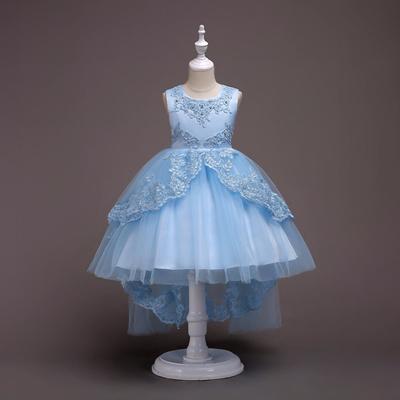 Qoo10 - Baby Girls Dresses Princess Party Dress 2 4 8 10 12 15 Years ...