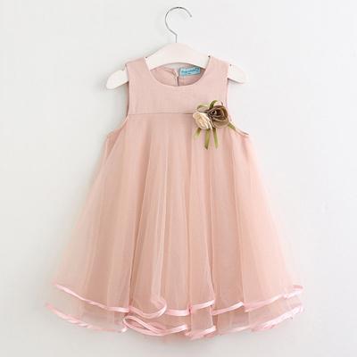 8da74fb5e Qoo10 - Baby Girls Princess Dresses Summer Cotton Kids Clothes 3 4 5 ...
