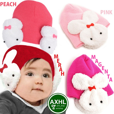 Baby Hat ·· Bahan Cotton ·· Topi Bayi dan Anak Halus Lembut Murah 62d23c5ed2