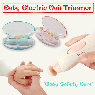 2018 New Electric Baby Nail File Safe Clippers Trimmer
