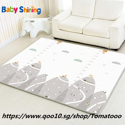 Baby Shining Play Mat Non Slip Baby Mat XPE Foam Mat Whole  200*180(78 7*70 9in) Thick 2CM Kids Rug f